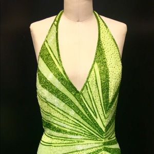 CACHE' beaded gown